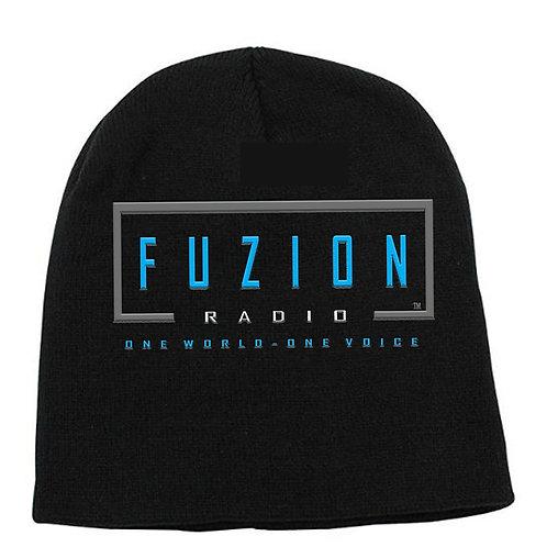 Fuzion Knit Hat Black
