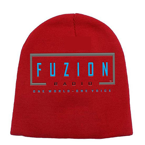 Fuzion Knit Hat Red