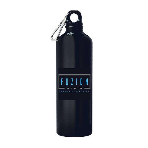 Fuzion Radio Aluminium Water Bottle