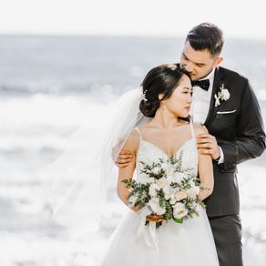 Cassandra & Quang's Romantic Wedding at the Darlington House in La Jolla, CA