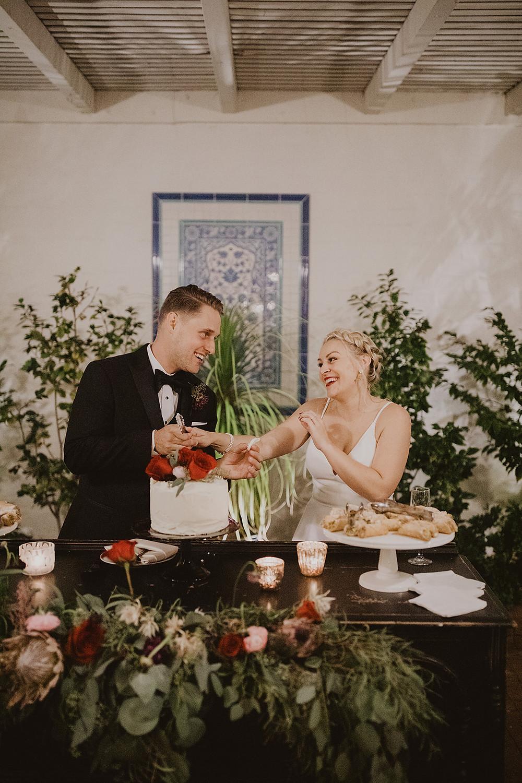Moody Winter Wedding at the Darlington House  | La Jolla, CA