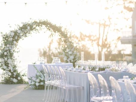 Romantic & Modern L'Auberge Del Mar Wedding