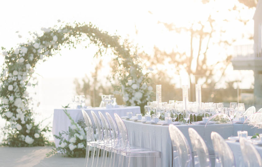 Romantic & Modern L'Auberge Del Mar Wedding