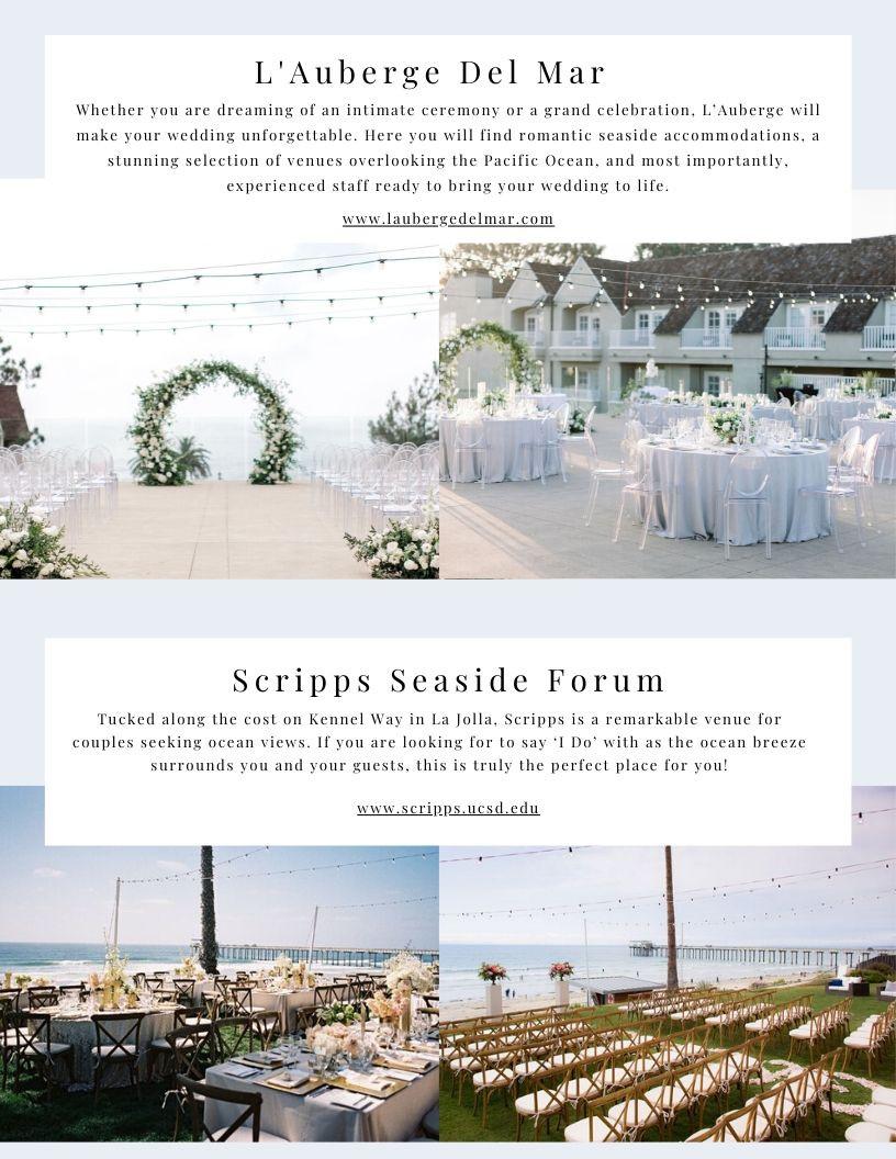 Outdoor Wedding Venues In San Diego, CA