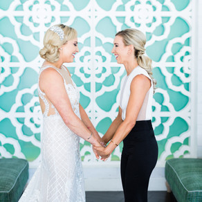 Glamorous Tropical Wedding at Eight4nine in Palm Springs, CA