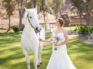 Romantic & Vintage Inspired Ranch Wedding