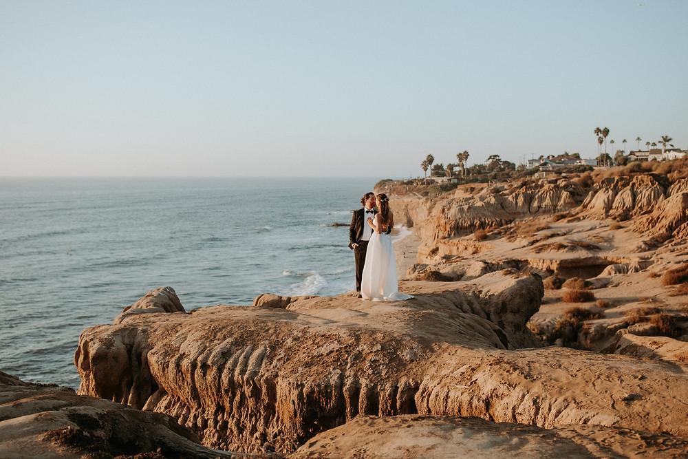 Sunset Cliffs Elopement | San Diego, CA