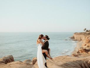 Valerie + Gilad's Sunset Cliffs Elopement Wedding in San Diego, CA