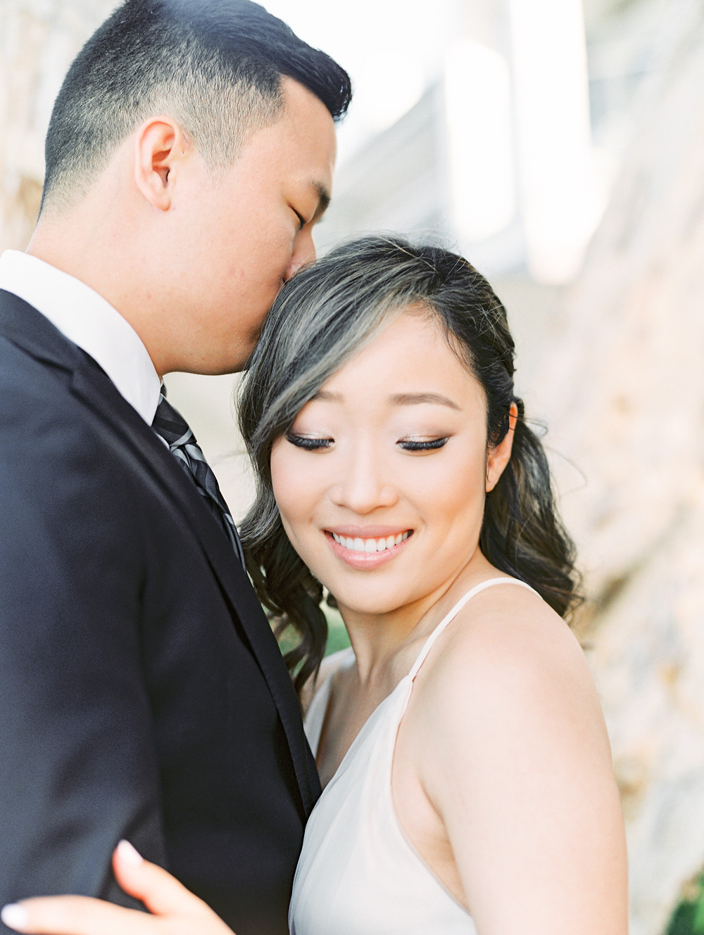 Esther + Yoon: San Diego Bay Engagement Photos