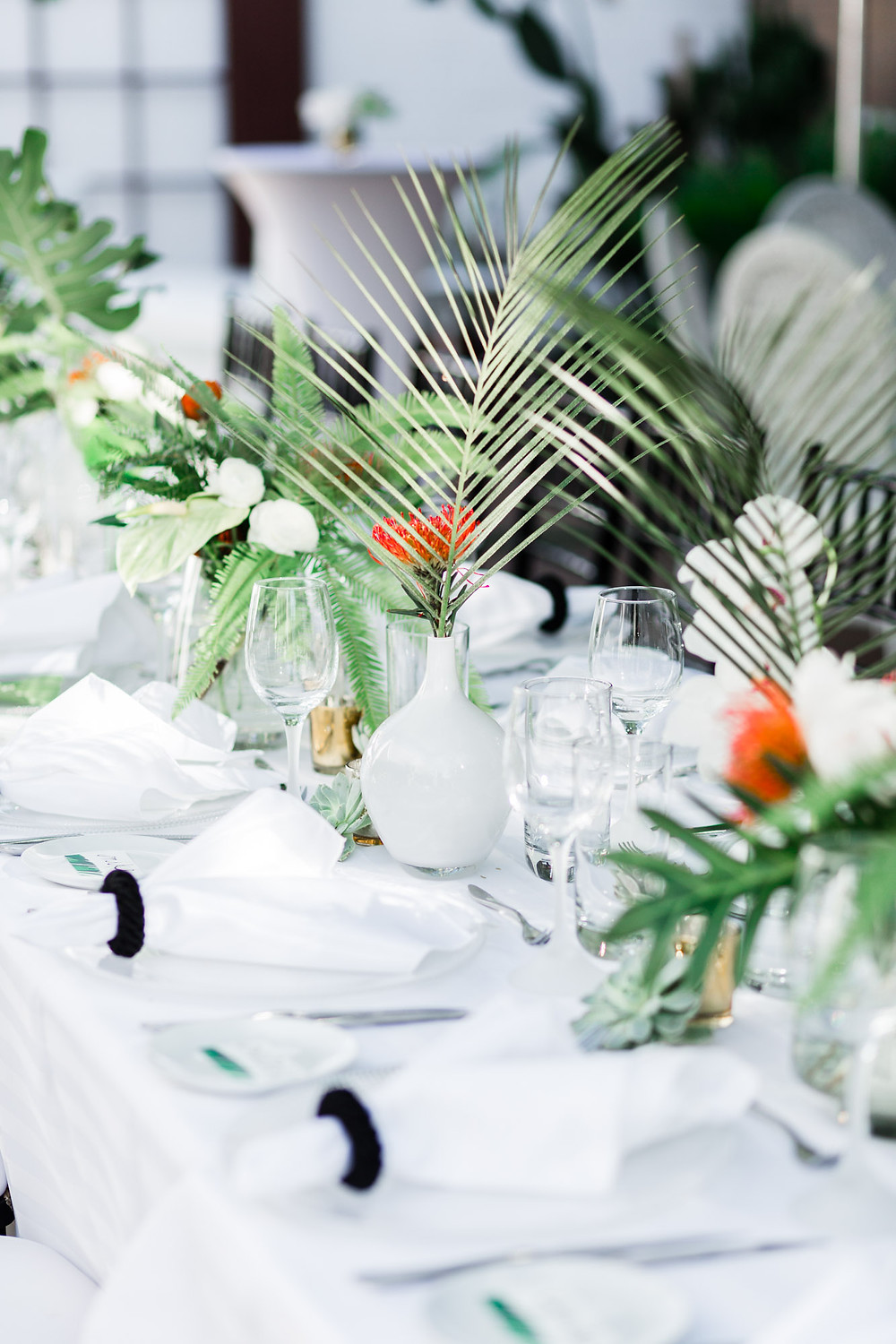 Palm Springs Modern Tropical Wedding at Eight4nine