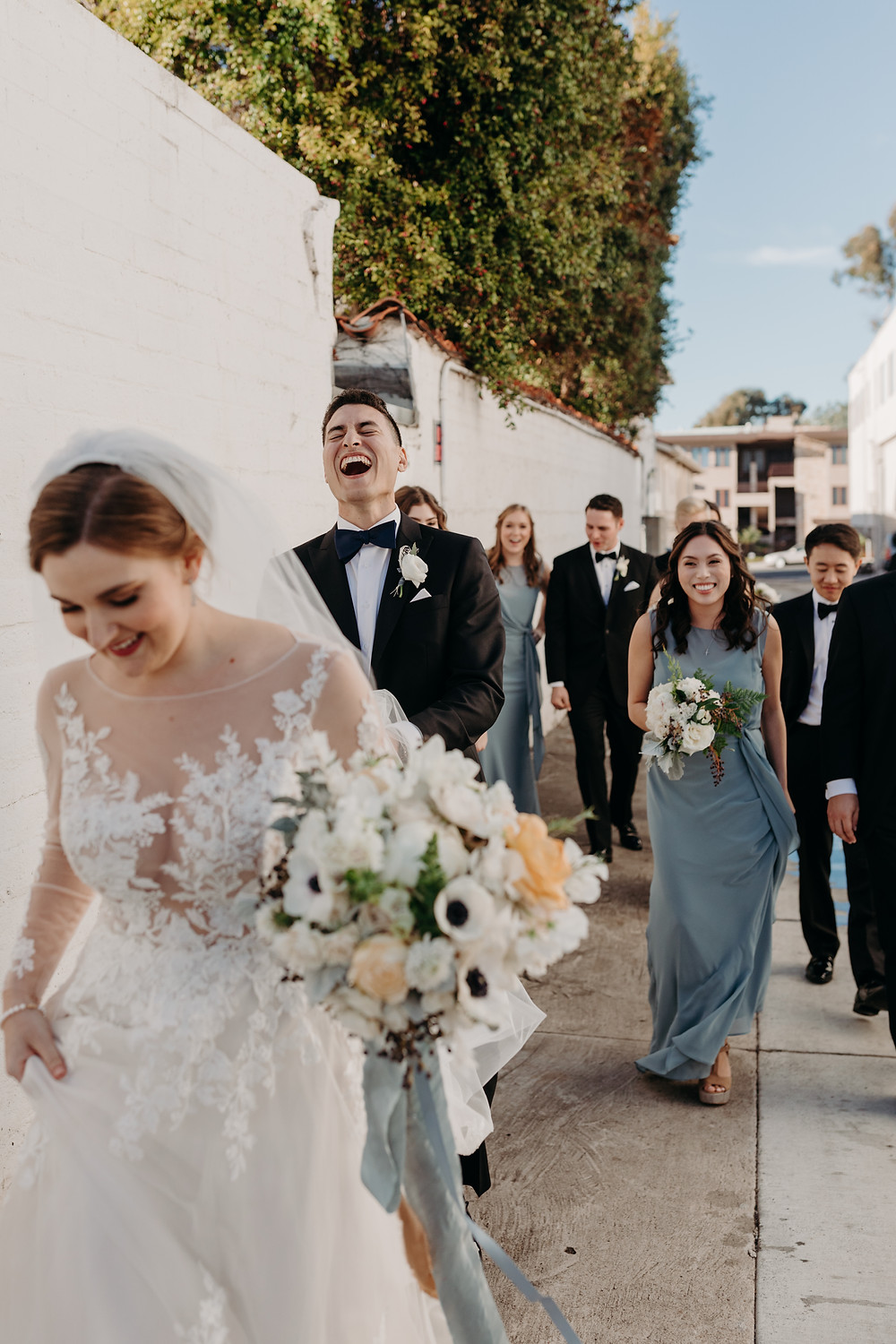 A Retro European Dinner Party Inspired Wedding At The Darlington House in La Jolla, CA