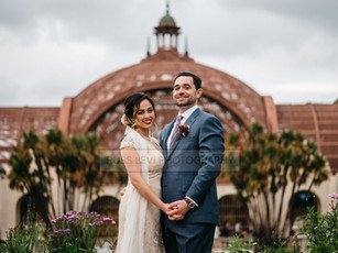 Sierra + Michael's Moody Wedding At The Museum Of Man in Balboa Park, San Diego, CA