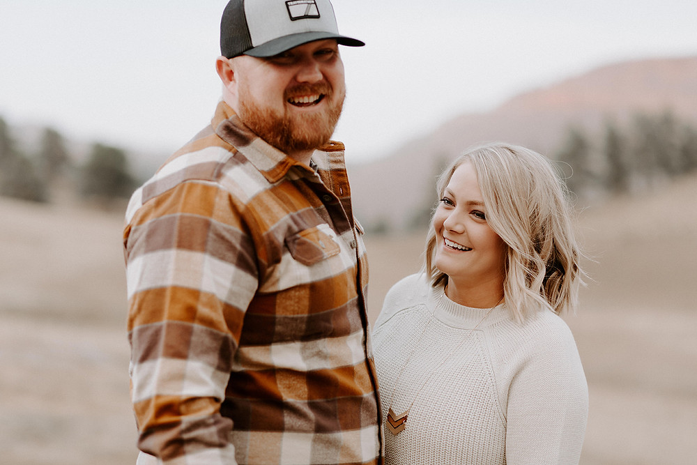 Rustic Colorado Engagement Photos