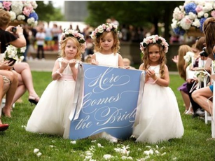 Adorable Flower Girls