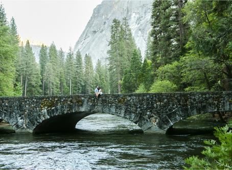 Engagement Photos: Mila + Dave's Adventurous Engagement Session in Yosemite National Park