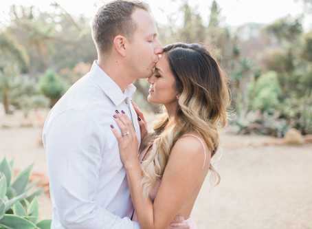 Engagement Photos: Haydee & Ben's Romantic Desert Engagement Session