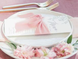 Wedding Place Setting + Functionality