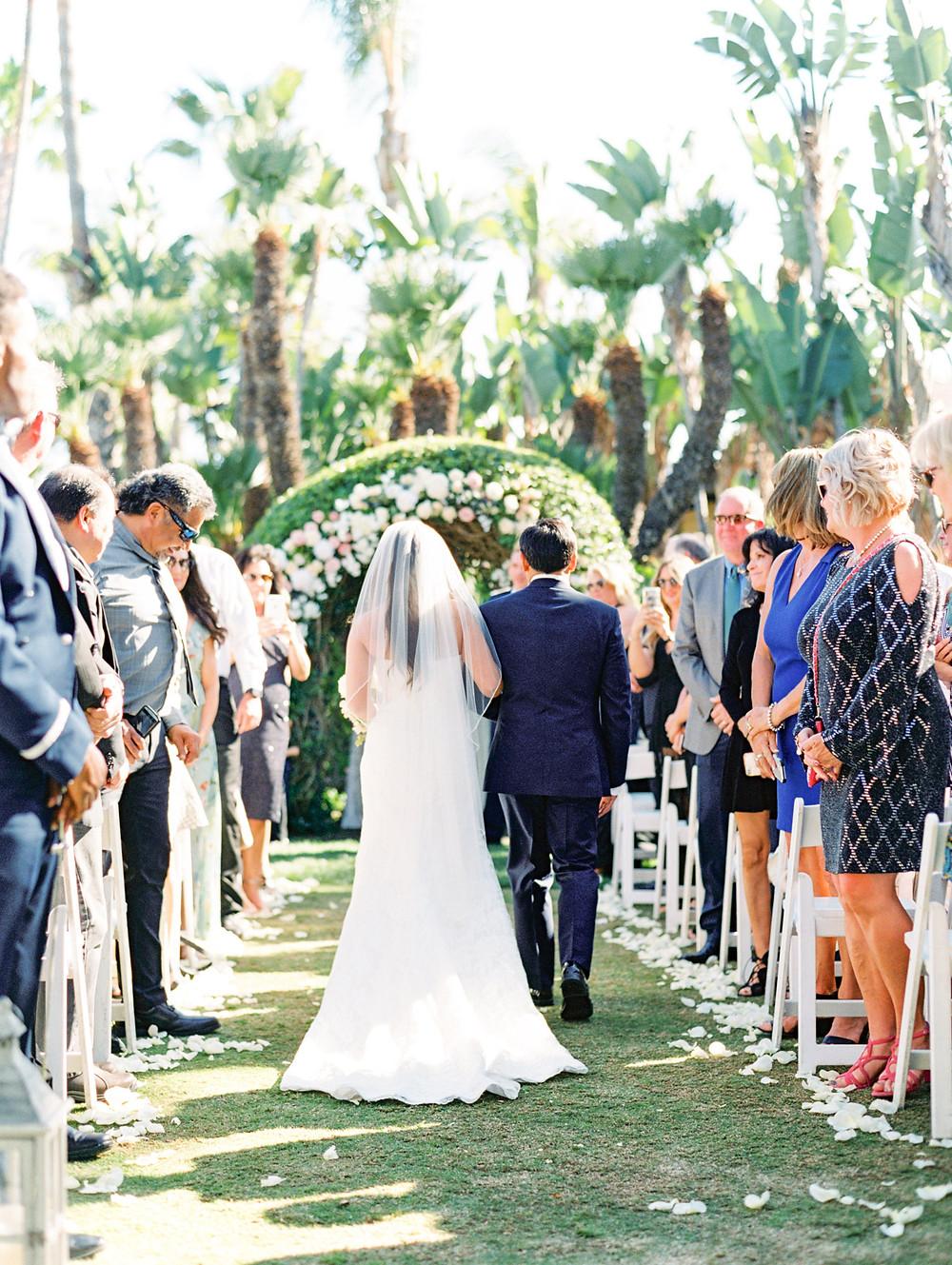 Mary + Nolan's Oceanfront Wedding at Humphrey's Half Moon Inn in San Diego, CA