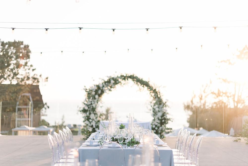 Romantic & Modern Wedding at L'Auberge Del Mar in San Diego, CA