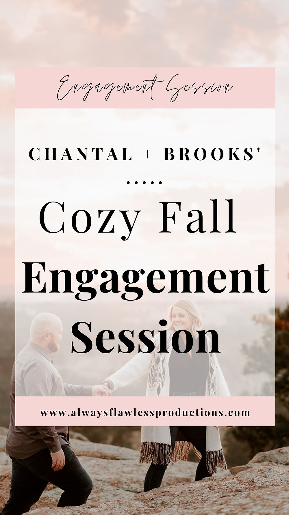 Cozy Colorado Engagement Photos