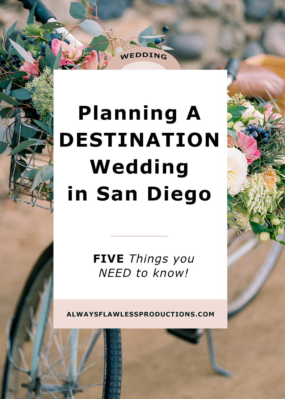 Destination Weddings - Planning A San Diego Wedding
