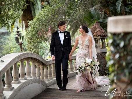 Hannah + Steve's Romantic Wedding at the Houdini Estate in Los Angeles, CA