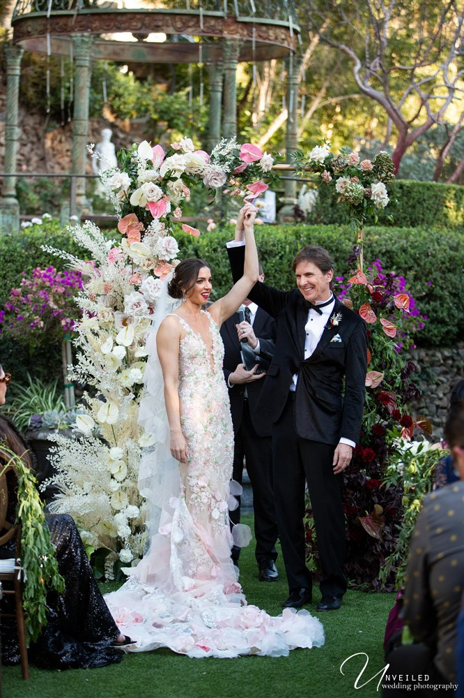 Wedding at the Houdini Estate in Los Angeles, CA