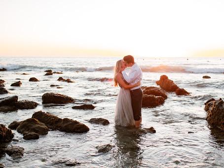 Sunset Beach Engagement Session