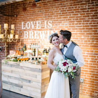 Mr. & Mrs. Wedding Duo_MIssion Brewery 1