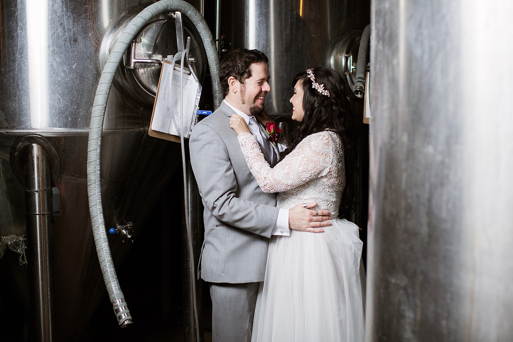 32 North Brewery San Diego Wedding
