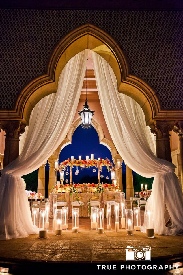 indoor wedding ceremony location at Fairmont Grand Del Mar