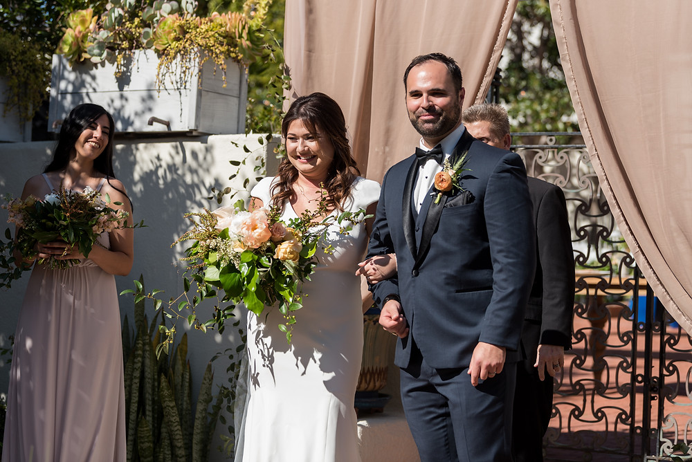 Danielle and Nick's Modern Wedding at Darlington House in La Jolla, San Diego, CA