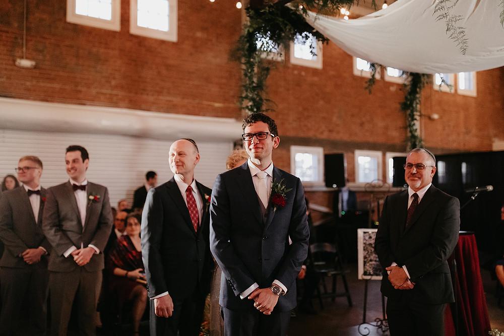 Modern San Diego Wedding at Brick Liberty Station