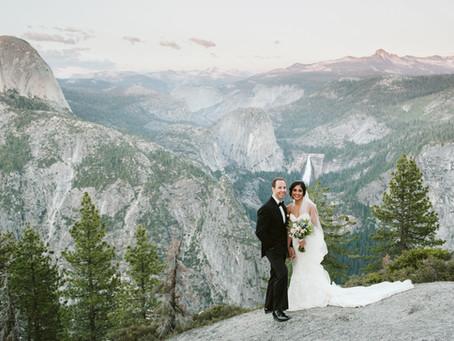 Mila + Dave's Yosemite National Park Elopement
