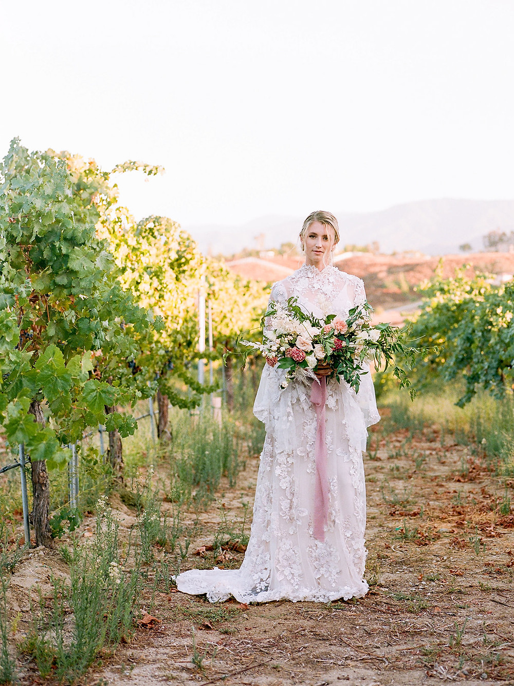 Romantic Avensole Winery Wedding in Temecula, CA