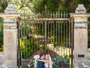 Paige + Eric's Romantic Wedding at Vista Valley County Club