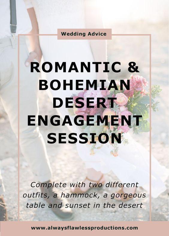 Engagement Photos: Desert Engagement Session