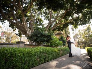 Real Wedding: Heather + Aron