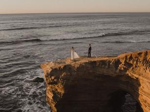 Sunset Cliffs Elopement in San Diego, CA: Cassandra and Ryan