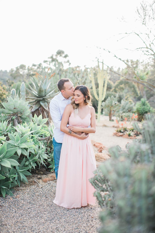 Engagement Photos - Romantic Desert Engagement Session