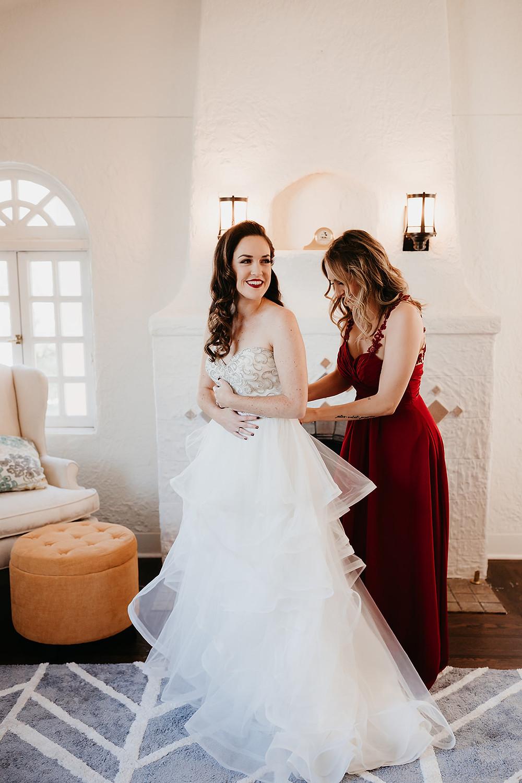 Modern San Diego Wedding at Brick
