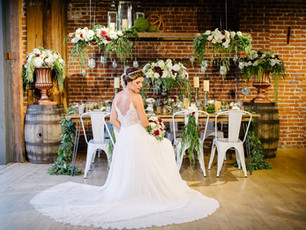 Brewery Wedding: Industrial and Glamorous Wedding at Mission Brewery