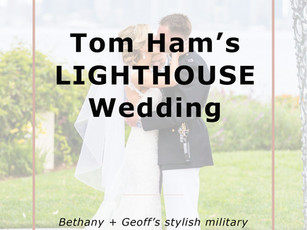 Tom Ham's Lighthouse: Bethany + Geoff's Gorgeous Wedding at in San Diego, CA