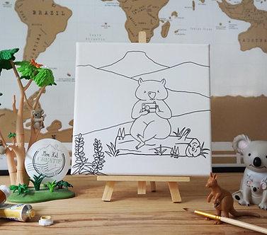 Le Wombat photographe - Ma toile Créative
