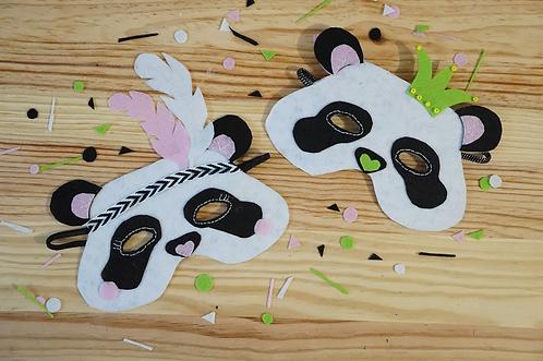 Mon Mini-Kit Pandas Masqués