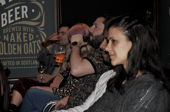Audience @ The Comedy Attic