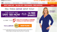Genie Fans Save $50 on Nutrisystem for the new year!! Learn more...