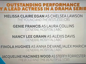 Genie Has Been NOMINATED for a LEAD ACTRESS EMMY!