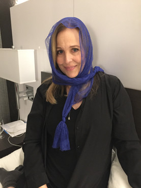 CONGRATULATIONS TO ASMA J. AND JOANNE B. FOR WINNING THE GENIE SCARF CONTEST!!