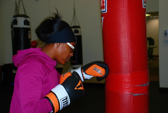 Ra'Teesha Scott at 2 Tone Boxing Club